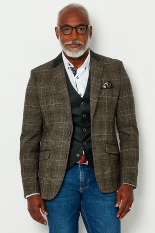 Joe Browns Wonderful Winter Check Blazer