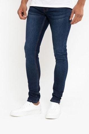 Threadbare Blue Skinny Leg Jeans