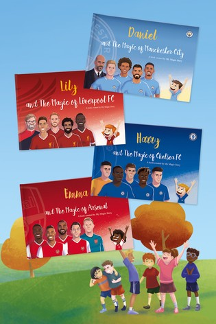 Personalised Hard Copy Football Book by Story Tailors