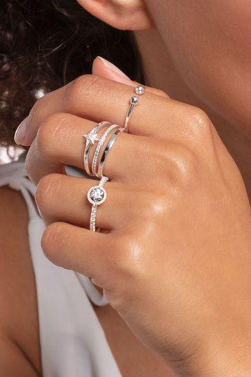 Thomas Sabo Silver Royal Star Ring