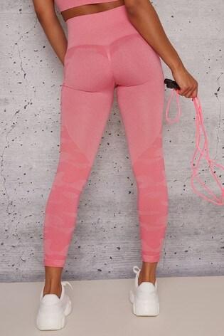 Chi Chi London Pink Isla Leggings