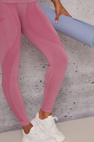 Chi Chi London Pink Edie Leggings
