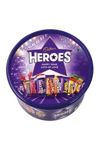 Personalised 580g Cadbury Heroes Tub by Yoodoo