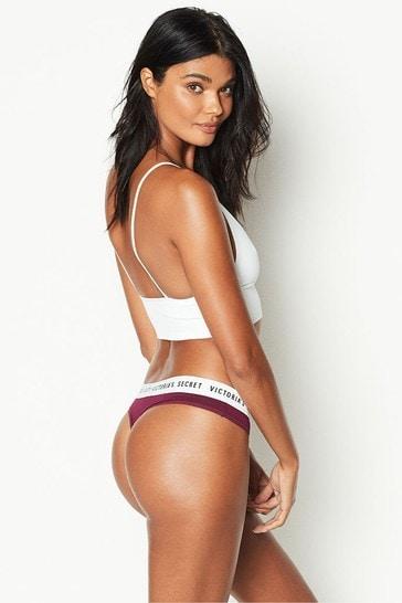 Victoria's Secret Logo Thong Panty
