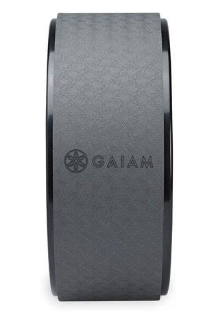 Gaiam Grey Eco Yoga Wheel Granite