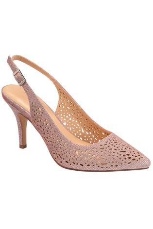 Lotus Footwear Pink Occasion Sling Back Shoe