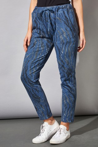 Roman Blue Originals Animal Print Lounge Pants