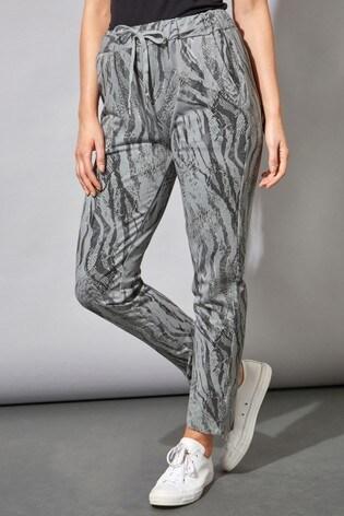 Roman Grey Originals Animal Print Lounge Pants