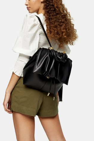 Topshop Ruched Backpack