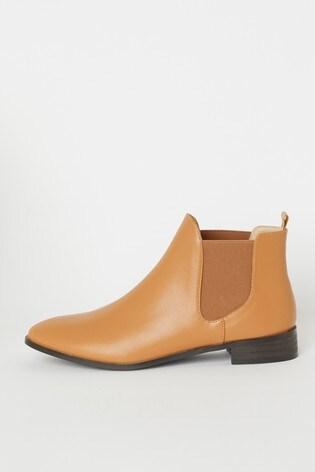 Raid Tan Chelsea Ankle Boot