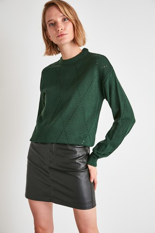 Little Mistress x Trendyol High Neck Jumper