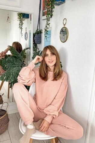 Little Mistress Pink Jogger Loungewear