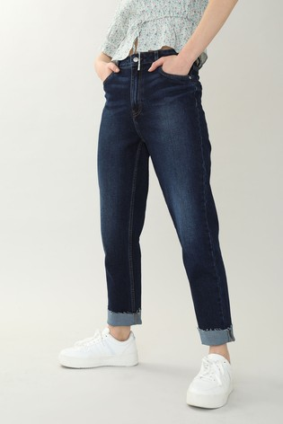 Pimkie Blue Straight Leg Jeans