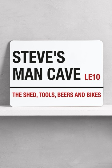Personalised Man Cave Bar Sign by Loveabode