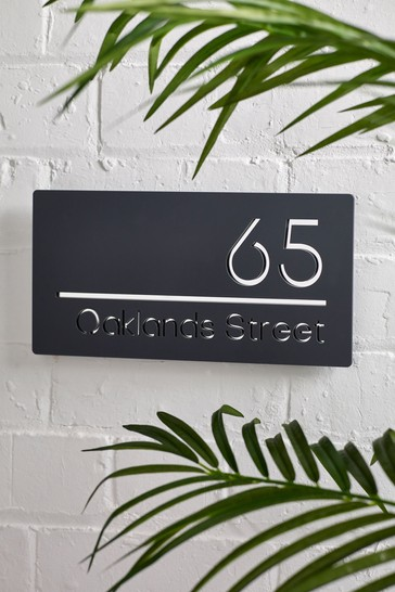 Personalised House Sign By Loveabode