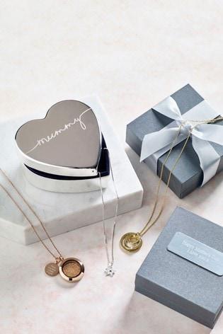 Personalised Heart Jewellery Box by Treat Republic