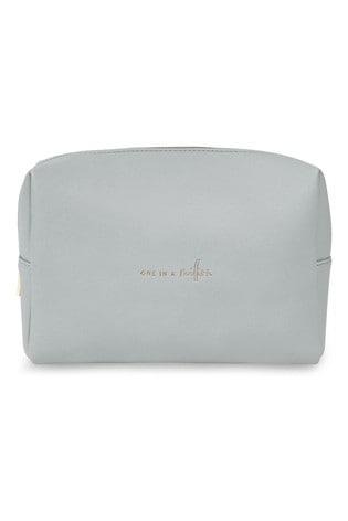 Katie Loxton Colour Pop Wash Bag   One in A Million   Pale Grey   16 x 24 x 8cm