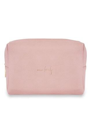 Katie Loxton Colour Pop Wash Bag | Hello Lovely | Pale Pink | 16 x 24 x 8cm
