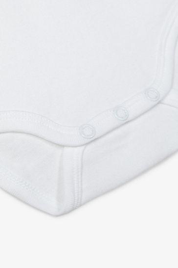 Name It White Long Sleeve Bodysuit 3 Pack