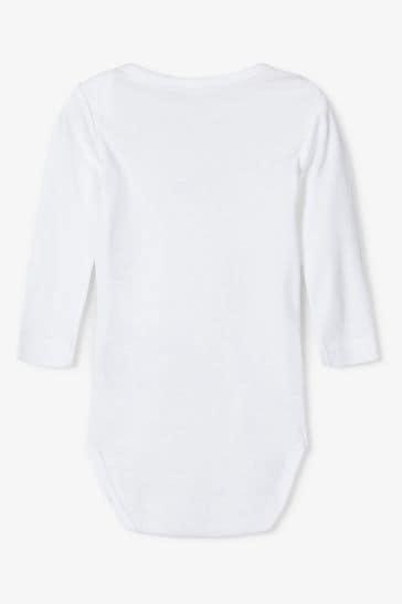 Name It Navy Long Sleeve Bodysuit 3 Pack