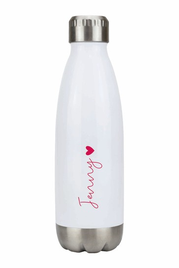 Personalised Heart Bottle by Ice London