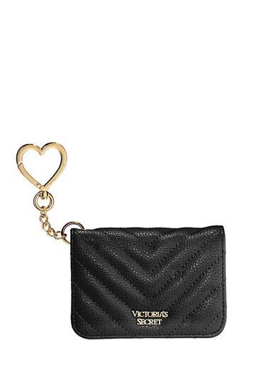 Victoria's Secret Studded VQuilt Foldable Card Case