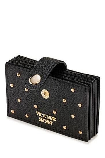 Victoria's Secret Signature Stripe Accordian Card Case