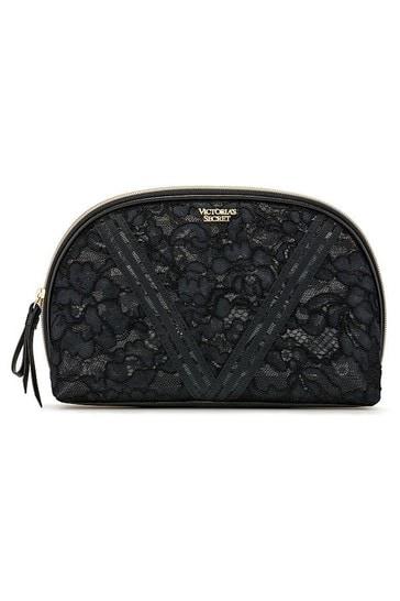 Victoria's Secret Floral Lace Glam Bag