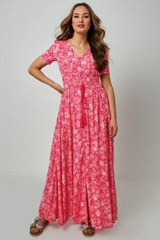 Joe Browns Pink Funky Flattering Dress