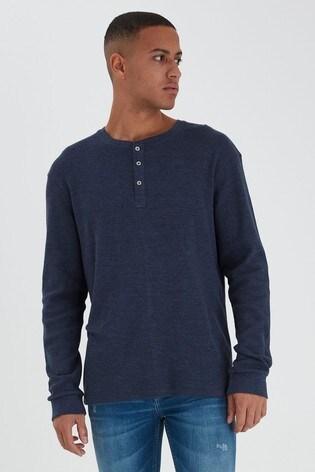 Blend Blue Long Sleeve Top