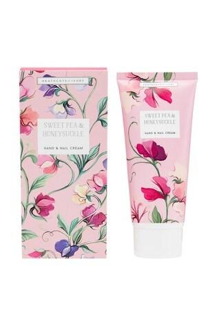Heathcote & Ivory New Sweetpea and Honeysuckle Hand and Nail Cream 100ml