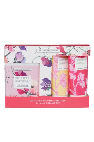 Heathcote & Ivory New Sweetpea and Honeysuckle Care for Hands on the Go
