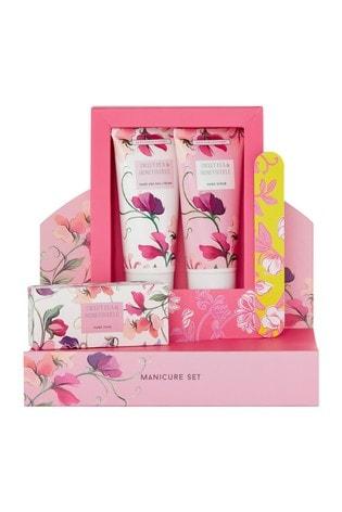Heathcote & Ivory New Sweetpea and Honeysuckle Manicure Set