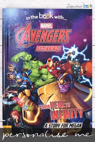 Personalised Marvel® Avengers Book by Signature Book Publishing