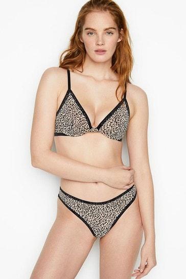Victoria's Secret Sheer Luxe Mesh Brazilian Panty