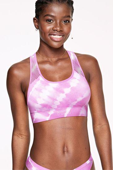 Victoria's Secret PINK Seamless Lightly Lined Sports Bra