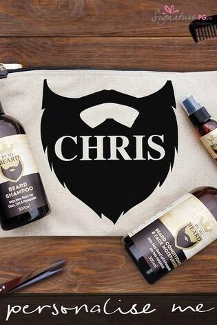 Personalised Beard Grooming Set by Signature PG