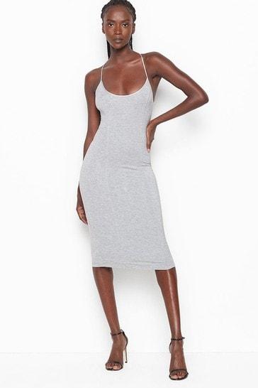 Victoria's Secret Heavenly by Victoria Supersoft Modal Tieback Slip Dress