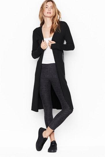 Victoria's Secret Cardigan Sweater Tiefront Duster Dress