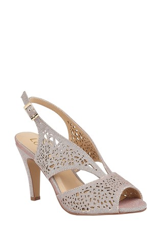 Lotus Footwear Pink SlingBack PeepToe Shoes