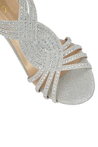 Lotus Footwear Silver Zip Up Open Toe Sandals