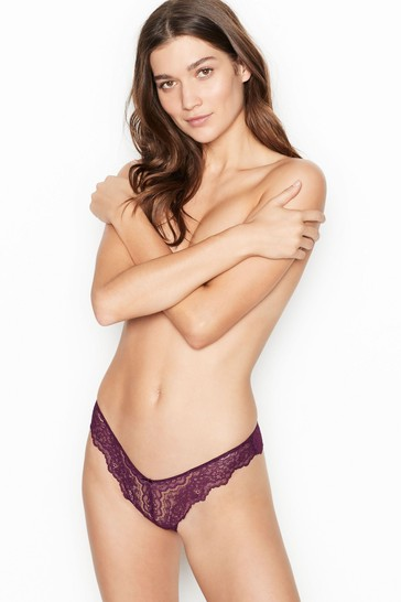 Victoria's Secret Corded Brazilian Panty