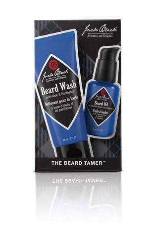 Jack Black Beard Tamer Set: Beard Oil 30ml, Beard Wash 88ml
