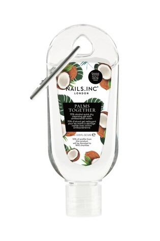 NAILS INC Palms Together Cleansing Gel Coconut Scent