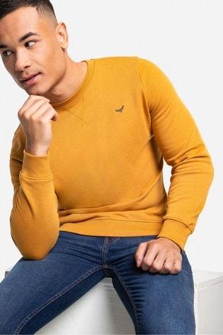 Threadbare Yellow Satsuma Crew Neck Sweatshirt