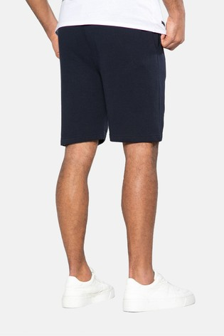 Threadbare Navy Bergamot Fleece Shorts