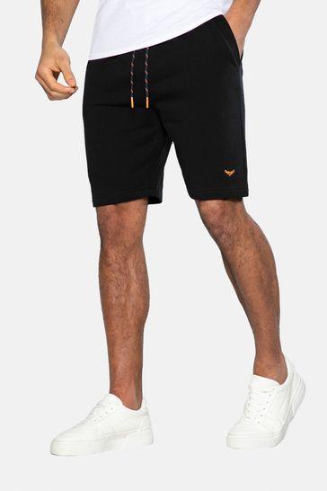Threadbare Black Bergamot Sweat Shorts