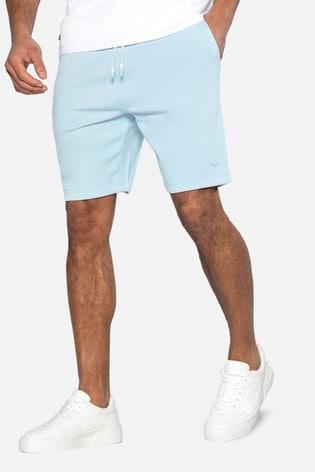 Threadbare Light Blue Bergamot Sweat Shorts
