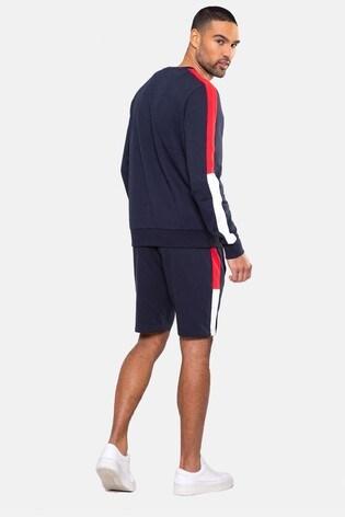 Threadbare navy Frood Crew Neck Sweatshirt
