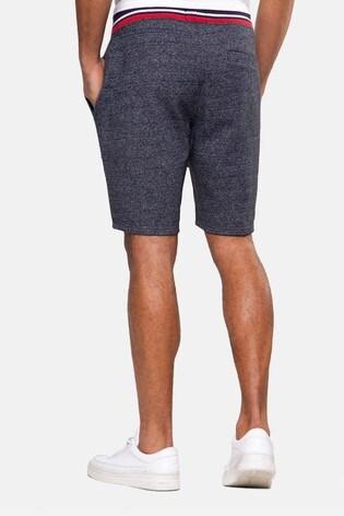 Threadbare Navy Perry Fleece Shorts